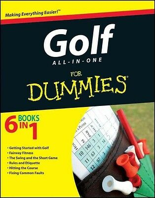 Golf All-in-One For Dummies by Consumer Dummies Paperback Book (English)