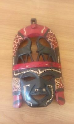 Wooden artistic mask