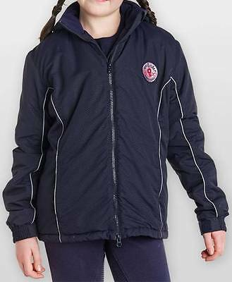 Childs Harry Hall Airton Padded Waterproof Horse Riding Outdoor Jacket
