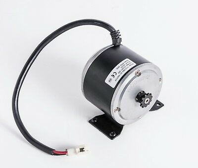 24 Volt 400 Watt XYD-6D Electric Motor w 11 Tooth #25 Chain Sprocket & Mounting