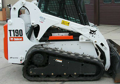 Bobcat skidsteer T190 track loader decal kit