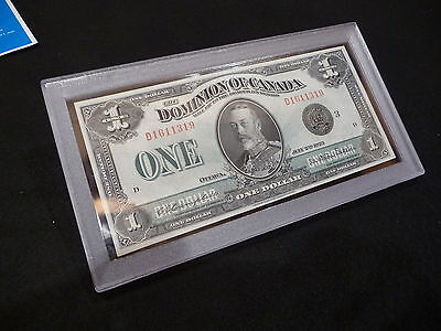 Currency* Bank Notes Money ONE Acrylic Snaplock Currency Holder for Small Modem