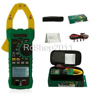 MASTECH MS2015A 1000A AC Clamp Meter Capacitance Frequency NCV Tester US ship!!!