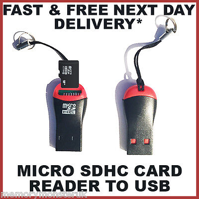 3 x Memory Card Reader To USB 2.0 - Adapter for Micro SD SDHC SDXC TF (NEW)