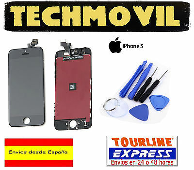 Pantalla Completa Lcd Display + Tactil Touch Digitalizador Apple Iphone 5 Negro