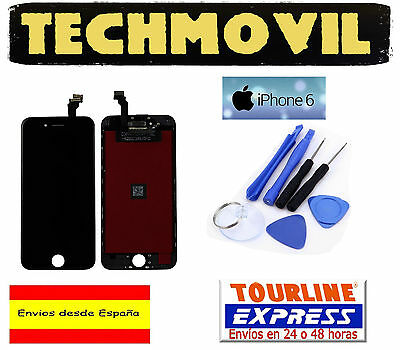 Pantalla Completa Lcd Display + Tactil Touch Digitalizador Apple Iphone 6 Negro