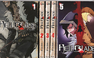 HELL BLADE tomes 1 à 5 Je-Tae Yoo MANGA seinen SERIE COMPLETE