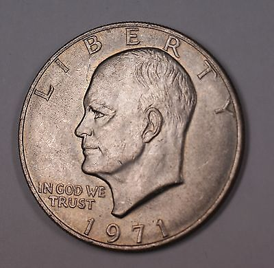 1971 1972 1974 1977 1978 Ike Eisenhower Bicentennial $1 Dollar Coin Circulated