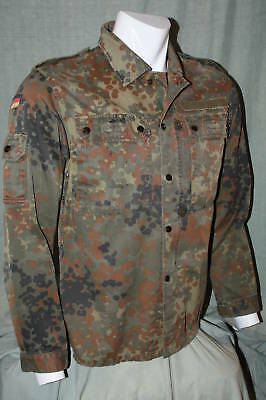 German Flecktarn Combat Shirt BDU  Grade 1 Size - Medium