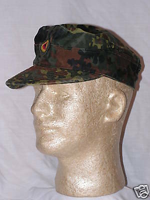 "German Army Flecktarn Wedge Cap  ""surplus item"" 56 cm size"