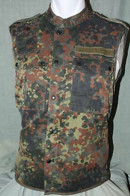 "German Flecktarn Combat Vest   Small, Medium,   32"" - 38"" chest sizes available"