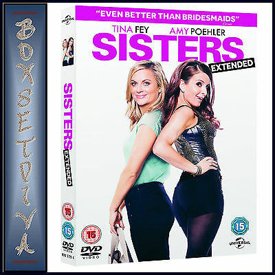 SISTERS - EXTENDED EDITION - Amy Poehler & Tina Fey *BRAND NEW DVD***