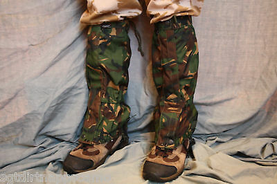 DPM British Camo Goretex Gators  use/ surplus item