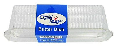 Arrow Plastic 00202 Crystal Image Butter Dish,No 202,  Arrow Plastic Mfg Co