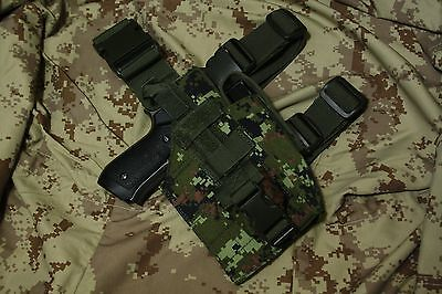 Cadpat Canadian Digital Tactical NATO Style Drop Leg Holster /right hand