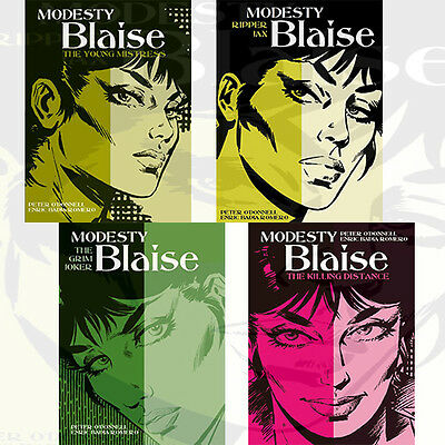 Modesty Blaise Collection By Peter O Donnell 4 Books Set Killing Distance ,New