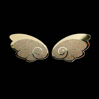 Fairy Wings Metal Decal Sticker 24K Gold-Plated for Cellphone Smartphone Mobile