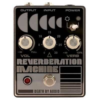 Death By Audio Reverberation Machine Reverb Pedal Guitar Effects Pedal
