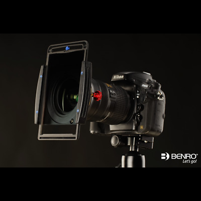 Benro FH100M2 100mm Metal Filter Holder CPL Kit for 77mm 82mm 72mm 67mm Lens
