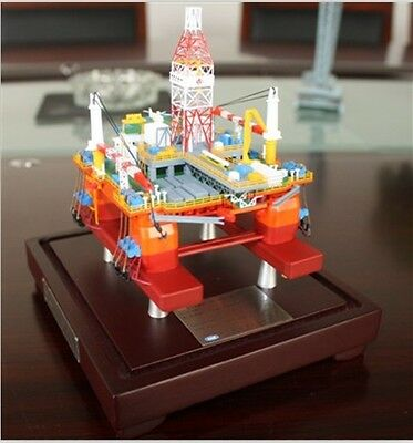 Commemorative Edition CNPC 981 Offshore Well Rig Drilling Platform Model