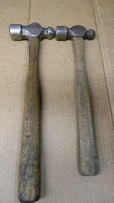 Vintage Lot Of 2 Ball Peen Hammers Proto And Channellock