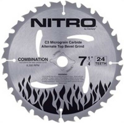 "Blade,5-3/8"" 24t Nitro by CENTURY DRILL & TOOL CO., INC"