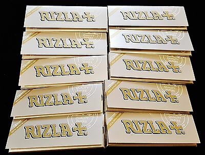 10 Packs Rizla Ultra Fino 70mm Cigarette Rolling Papers 50 Per Pack Free Ship
