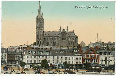 View from beach, Queenstown (now Cobh)