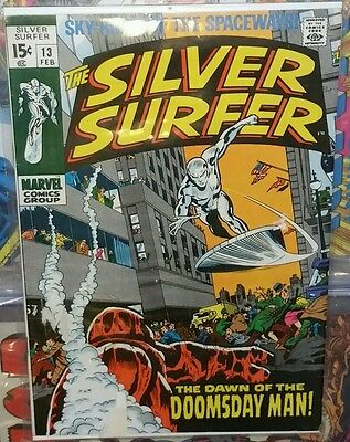 Silver surfer #13 (1st series)