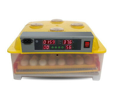 Automatic 36 Eggs Incubator Hatching Poultry Chicken with Alarm Function 220V Y