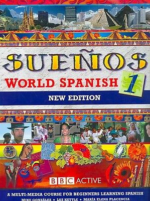 Suenos World Spanish 1 Coursebook by Mike Gonzalez Paperback Book (Spanish)