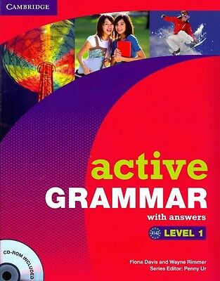 Active Grammar Level 1 With Answers and Cd-rom by Fiona Davis Book & Merchandise