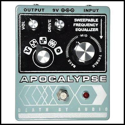 Death by Audio Apocalypse Fuzz / Distortion Guitar Effects Pedal