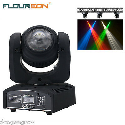 20W 2Cree LED Moving Head 2Face Led beam Stage Light DMX512 15/21CH 4in1 RGBW DJ