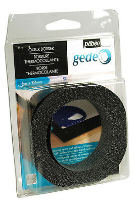Pebeo Gedeo Quick Border Edging Tape for Pouring Resin / Liquid Art - 5m x 23mm