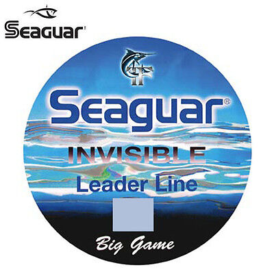FLUOROCARBONE SEAGUAR BIG GAME 15M Modèle: 1.48MM