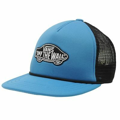Kids Vans Patch Junior Boys Trucker Cap New