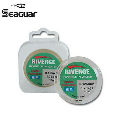 NYLON DE PECHE SEAGUAR RIVERGE COMPETITION FLUOROCARBONE Modèle : 0.152 MM