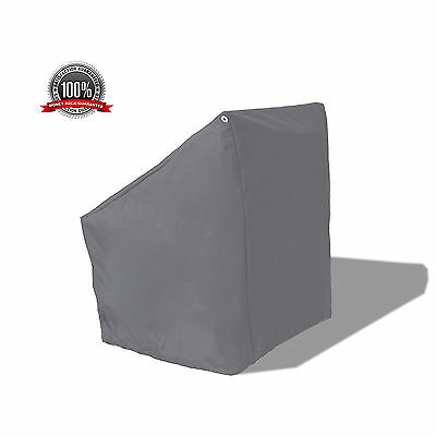 """WaterProof Deluxe Boat Center Console Cover Medium 40""""L Grey"""