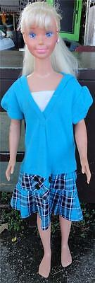 "Vintage~1992~My Size Blonde BARBIE DOLL Life Size 36"" Tall Mattel *B*"