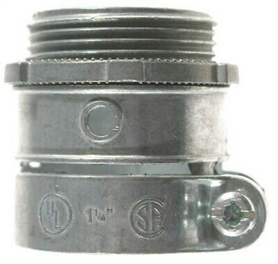 3/4in Flx-Bx Squeeze Connector,No 90422,  Halex Company