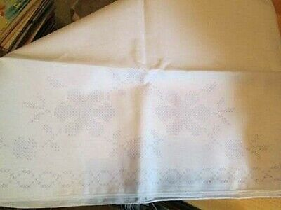 Pillowcase Set Of 2 Stamped Cross Stitch To Embroider Your Choice-Sweet Dreams O