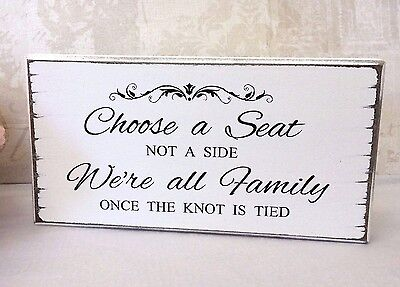 Wedding SEATING PLAN Sign Choose a Seat Table Sign Free Standing  Vintage