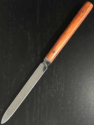 Letter Opener Paper Knife   -  Stainless Steel Blade  -  Orange Handle