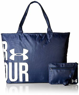 NWT Under Armour Women's Big Wordmark Tote Bag Purse Gym Bag MSRP $29.99
