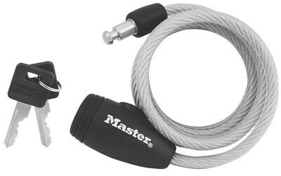 Lock Cable Stl 5/16inx5ft K/D,No 8109D,  Master Lock Co