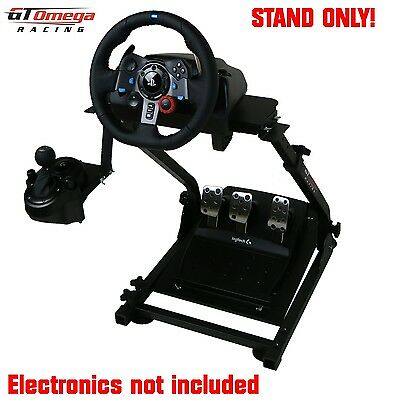 GT Omega Steering Wheel stand PRO For Logitech G29 Racing Wheel  PS4 and PC. V2