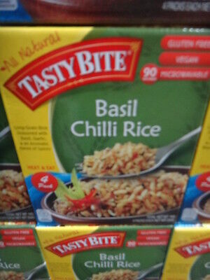Tasty Bite Basil Chili Rice 4x250G