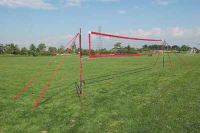 MVPro Sports - Portable Beach Volleyball System - RED - Professional Quality