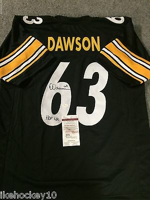Dermontti Dawson Autographed Signed Insc Pittsburgh Steelers Jersey Jsa Coa ca937bffa